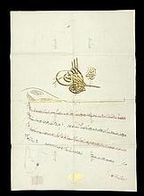 Two firmans regarding public appointments Ottoman