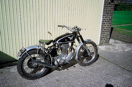1951 Matchless 350cc Trials Registration no. PPG 258 Frame no. 2509 Engine no. 51 G3L 6459