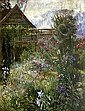 Anna Lea Merritt (American, 1844-1930) A garden in Spring, Anna Massey W Lea Merritt, Click for value