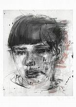 AR Jenny Saville (British, 1970) Red Stare Digital pigment print in colours