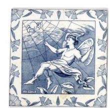 Wedgwood- A Set of Fourteen Midsummer Night's Dream Tiles, circa 1910