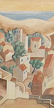 EDWARD WADSWORTH (British, 1889-1949) Near