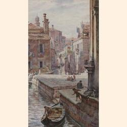 Thomas Matthew Rooke R.W.S., (British, 1842-1942) At the back of San Rocco, Venice