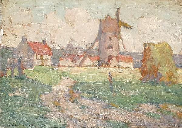 Frank Potter (20th Century School) Windmill