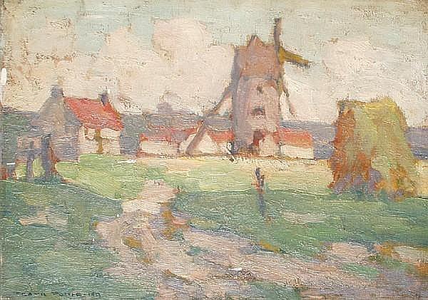Frank Potter (20th Century School) Windmill