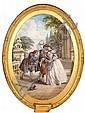 Louis Haghe (British, 1806-1885) L'École des Maris - Moliere