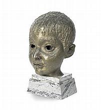 AR Sir Jacob Epstein (British, 1880-1959)  Bust of Enver