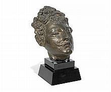* AR Sir Jacob Epstein (British, 1880-1959)  Third Portrait of Meum (mask)