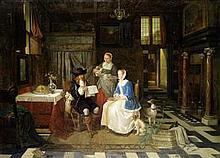 FERDINAND DE BRAEKELEER (Belgian, 1792-1883) News