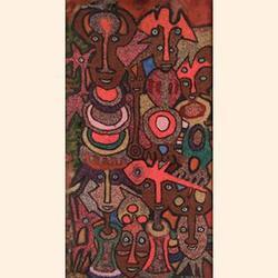 JACOB AFOLABI (b. 1940) Dancing Masquerade