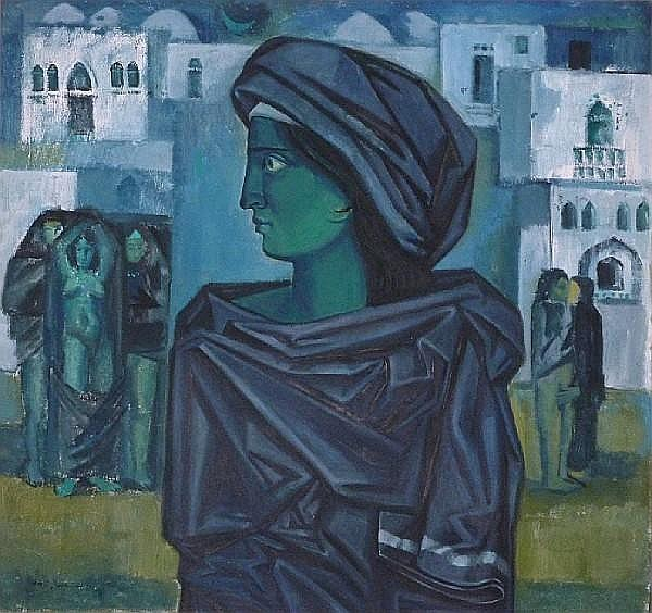 Nazir Nabaa (Syria, born 1938) An Eastern Dream,