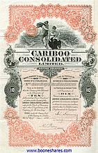 CARIBOO CONSOLIDATED LTD (3 types)