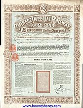CHINESE IMPERIAL RAILWAY GOLD LOAN