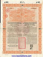 CHINESE IMPERIAL GOVERNMENT GOLD LOAN 4,5% OF 1898