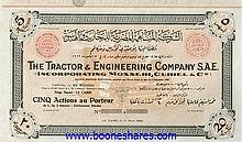 TRACTOR & ENGINEERING CO. S.A.E.