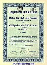 ROYAL YACHT CLUB DE GAND ET MOTOR BOAT CLUB DES FLANDRES S.S.B.L.
