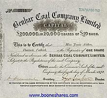 BENHAR COAL CO., LTD
