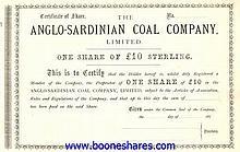 ANGLO-SARDINIAN COAL CO. LTD