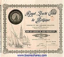 ROYAL YACHT CLUB DE BELGIQUE