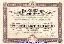 GRANDE BRASSERIE ORLEANAISE SCHMETZ S.A.