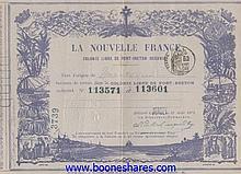 LA NOUVELLE FRANCE COLONIE LIBRE DE PORT-BRETON (OCEANIE)