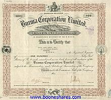 BURMA CORPORATION LTD