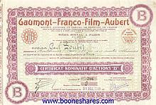 GAUMONT-FRANCO-FILM AUBERT S.A.