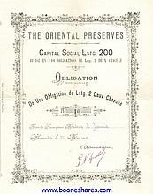 ORIENTAL PRESERVES
