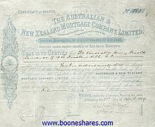 AUSTRALIAN & NEW ZEALAND MORTGAGE CO., LTD