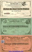 BOUTELLEAU & CIE., UNION DES PROPRIETAIRES DE VIGNOBLES (6 pieces)
