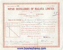 NIPAH DISTILLERIES OF MALAYA LTD