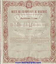 CHARB. DE MARIEMONT, L'OLIVE, CHAUD-BUISSON & CARNIERES, SOC. DES.
