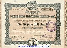 BANK POLSKICH KUPCOW I PRZEMYSTOWCOW CHRZESCIJAN W LODZI