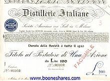 DISTILLERIE ITALINE S.A. (7 types)