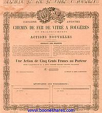 C.D.F. DE VITRE A FOUGERES ET PROLONGEMENTS, CIE AN.