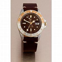 Rolex, GMT Master, Ref. 1675, n° 232xxxx, datée du 2ème trimestre 1972.