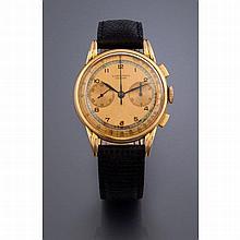 Longines, chronographe, Mvt. n° 7683571, vers 1940.    Un beau chro