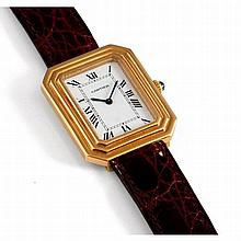 Cartier, Square, n° 780960799, vers 1970.    Une belle et originale