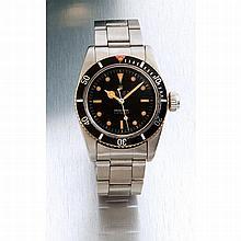 Rolex, Submariner, ref 6538, n° 426xxx, datée IV 1958.    Une belle