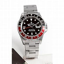 Rolex, GMT Master II, Ref 16710, n° S136xxx, vendue en décembre 1994.