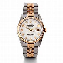 Rolex, Datejust, Ref. 16233, n° W137xxx, vers 1994.    Une montre e