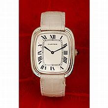Cartier, Gondole, n° 970500359, vers 1978.    Une rare et belle mon