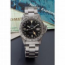 Rolex, Explorer II, Ref. 1655, n° 743xxxx, vendue le 18 juin 1984.