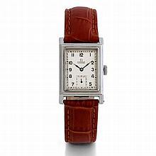 Omega, Etanche Art Déco, n° 9992984, vers 1935.     Une rare montre