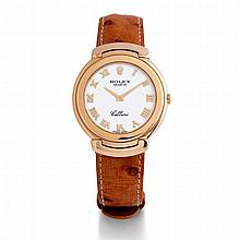 Rolex, Cellini, Ref. 6623, n° E652335, vers 1994.    Une montre en