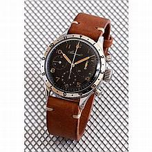 Breguet, chronographe de pilote, n° 1821, vers 1950.    Exceptionne