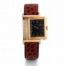 Reverso, n° 2878, vers 1930.    Très rare et très belle montre rect