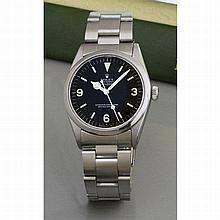 Rolex, Précision, ref 6424, n° 178315, vers 1950.    Une rare montr