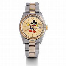 Rolex, Ref. 1505, n° 5845855, vers 1978.    Une montre bracelet en