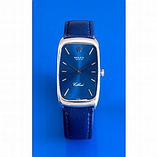 Rolex, Cellini, Ref. 4108, n°4259755, vers 1976.    Une montre rect